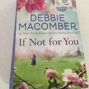 """Book """"If not for you"""", by Debbie Macomber."""